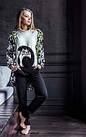 Невероятно теплая женская пижама Key LHS 817