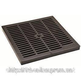 Решетка к дождеприемнику (пластик 280х280) черная;(3380-Ч); Standartpark - ЧП Олексенко А. Л. в Полтаве