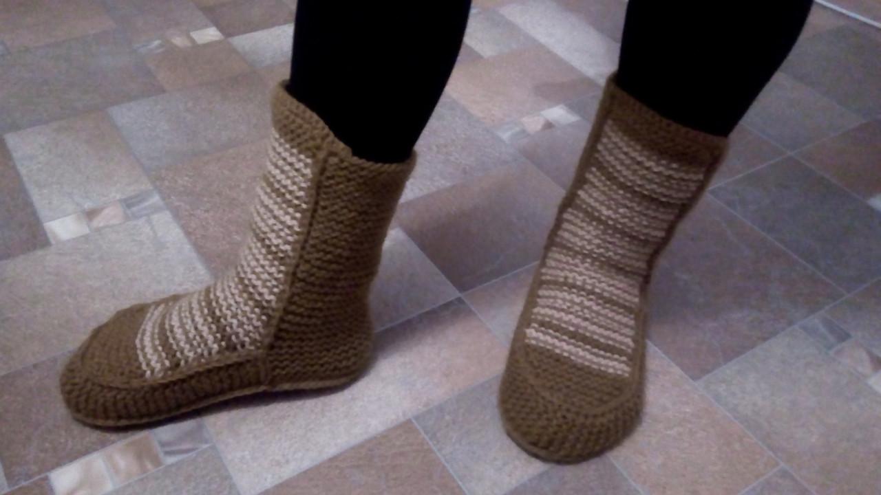 01ac971b16f Женские вязаные носки-сапожки