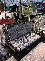 Полка диван в прихожую с мягким сидением 100х40 G-503