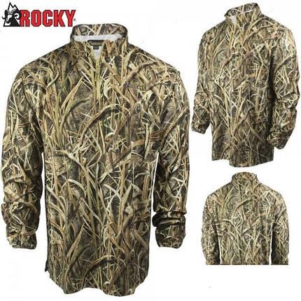 Пуловер легкий для охоты Rocky Waterfowler 1/4-Zip Shirt-Jac, фото 2