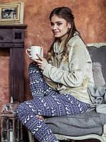 Невероятно теплая женская пижама Key LHS 886