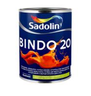 Краска для стен и потолка BINDO 20  BW (1л.)
