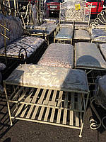 Полка диван кованый в прихожую 60х30 G-505