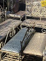 Полка диван кованый в прихожую 90х30 G-506
