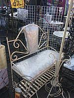 Полка диван кованый в прихожую 60х30 G-507