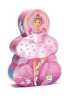Пазли дитячі картонні арт.DJ07227    DJECO Пазл 36 Балерина