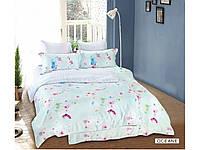 Бамбуковое постельное белье семейноеArya Oceane AR47