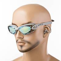 Очки для плавания Speedo S86AD серый
