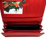 Женский черный бумажник двойного сложения , фото 2