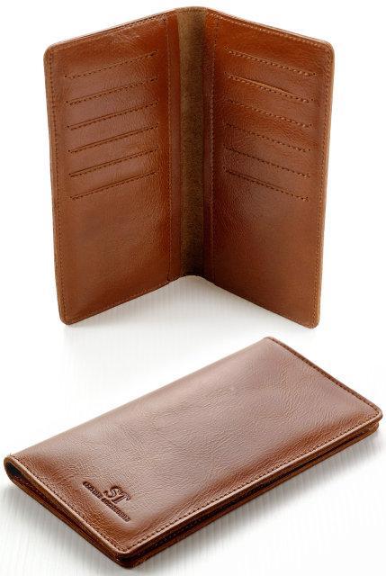 4054fdd20cf6 Практичный компактный стильный мужской кошелек ST. Оригинальный дизайн.  Хорошее качество. Доступно Код: