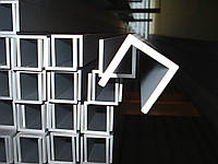 Алюминиевый швеллер 45x42,5x2