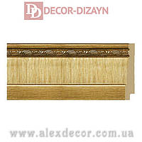 Плинтус B1090-G Decor-Dizayn 90х15х2400мм