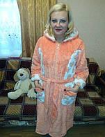 Халат махровый очень теплый 46р, доставка по Украине