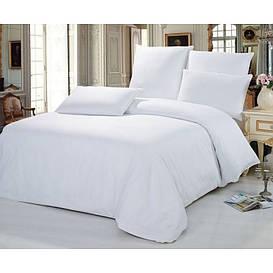 Комплект постельного белья двуспальный Вилюта ранфорс белый