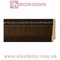 Плинтус B1090-DB Decor-Dizayn 90х15х2400мм