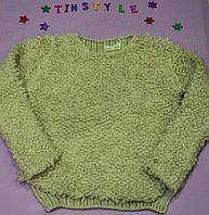 """Оригинальный свитер """"Букле"""" для девочки на 3-8 лет"""