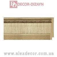 Плинтус B1090-S Decor-Dizayn 90х15х2400мм