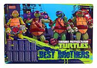 """Подложка пластиковая """"Ninja Turtles"""""""