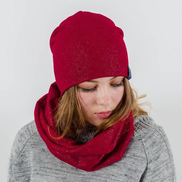 """Комплект """"Lurex"""" шапка+баф"""