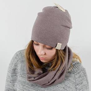 """Комплект """"Lurex"""" шапка+баф, фото 2"""