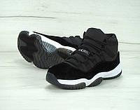 Женские кроссовки Nike Air Jordan Black  36, фото 1