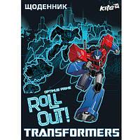 Дневник школьный в твердой обложке Transformer