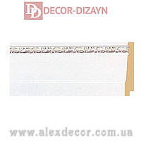 Плинтус B1090-WG Decor-Dizayn 90х15х2400мм