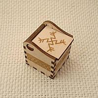 Подарочная коробочка Денежная вязь