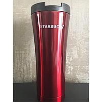 Термокружка Starbucks (Старбакс) H 206 (500 мл), красная