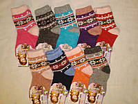 Детские шерстяные термо  носки на 2 - 3 года