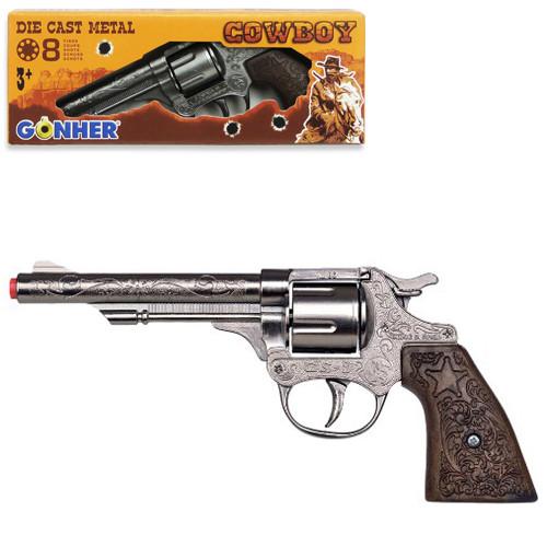80/0 Револьвер Ковбойський 8 зарядний, в коробці 9503008100