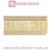 Плинтус B1090-IV Decor-Dizayn 90х15х2400мм
