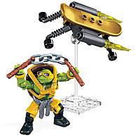 Конструктор Mega Bloks Черепашки-Ниндзя Турбо скейт Майки. Teenange Mutant Ninja Turtles Mikey Turbo Board