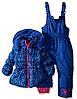 Зимний синий раздельный комбинезон Pink Platinum(США) 2Т для девочки 2 года