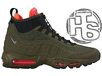 Мужские кроссовки Nike Air Max 95 Sneakerboot Dark Loden/Black Cargo/Khaki 806809-300 41