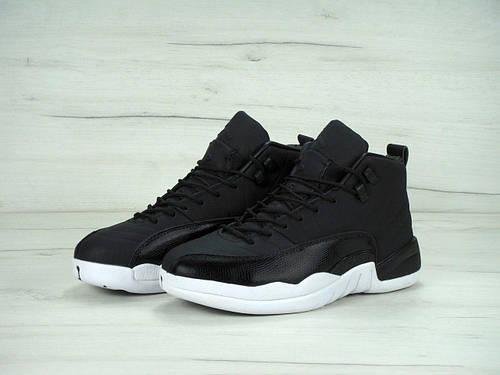 19263c20 Мужские баскетбольные кроссовки Nike Air Jordan 12 XII Retro Black Nylon:  продажа, цена в Киеве. кроссовки, кеды повседневные от
