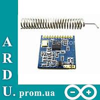 Радиомодуль SI4432 433МГц 1КМ трансивер Arduino [#8-5], фото 1