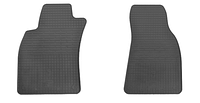 Коврики в салон  Ауди А6 (Audi A6) 2005-2011 г. (резина, 2 шт.)