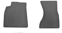Коврики в салон  Ауди А6 (Audi A6) с 2011 г. (резина, 2 шт.)
