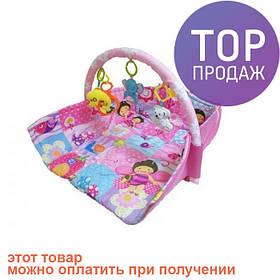 Развивающий музыкальный игровой коврик для младенца D105 / игровой коврик