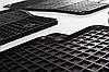Коврики в салон Ауди А4 Б7 (Audi A4 B7) с 2004 г. (резина, 2 шт)