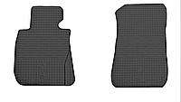 Коврики в салон БМВ 1 Е81/Е82/Е87 (BMW 1 E81/E82/E87) с 2004 г. (резина, 2 шт), фото 1