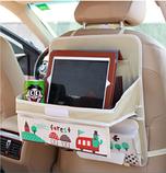 Органайзер автомобильный с раскладным столиком, фото 4