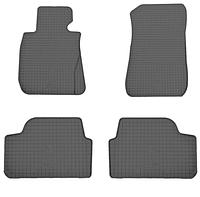 Коврики в салон БМВ 1 Е81/Е82/Е87 (BMW 1 E81/E82/E87) с 2004 г. (резина, 4 шт), фото 1