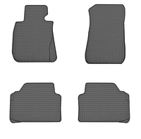 Коврики в салон БМВ 3 Е90/Е91/Е92 (BMW 3 E90/E91/E92) с 2005 г. (резина, 4 шт), фото 1