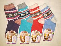 Детские шерстяные носки на 6 - 7 лет