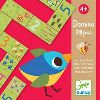 DJECO Игра-детское домино Раз Два Три