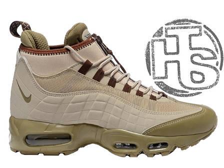 Мужские кроссовки реплика Nike Air Max 95 Sneakerboot Khaki/Matte Olive 806809-200, фото 2