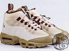 Мужские кроссовки реплика Nike Air Max 95 Sneakerboot Khaki/Matte Olive 806809-200, фото 3
